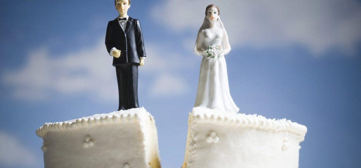 В марте количество разводов в Барановичах сократилось почти вдвое
