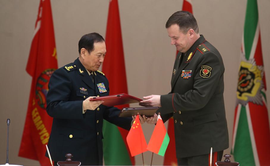 Китай предоставит Беларуси безвозмездную военную помощь