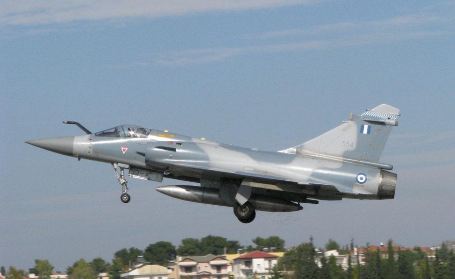 В Эгейском море разбился военный самолет греческих ВВС