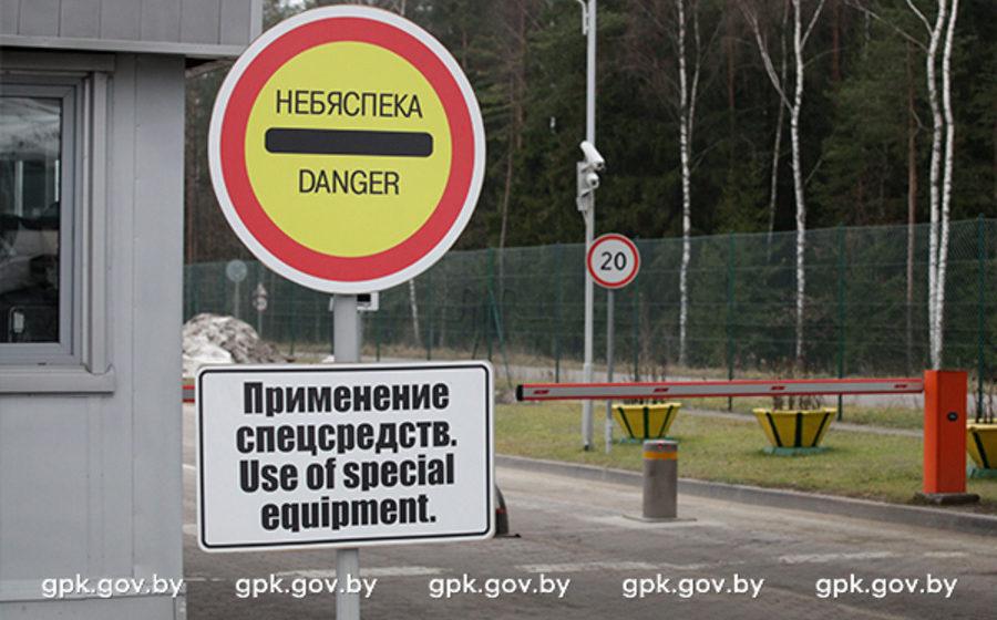 Пьяный белорус на фуре пытался прорваться через белорусско-польскую границу