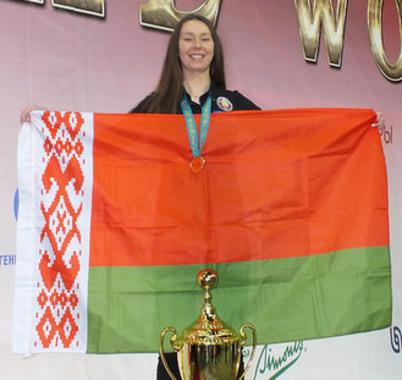 Белоруска стала чемпионкой мира по бильярдному спорту