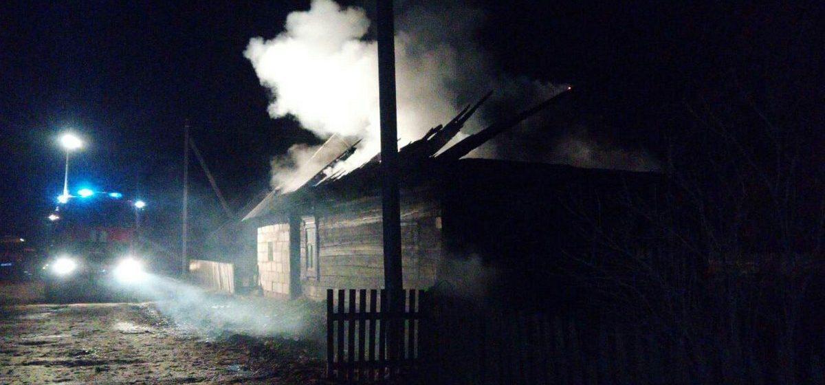 В деревне Литва Ляховичского района на пожаре погиб хозяин дома