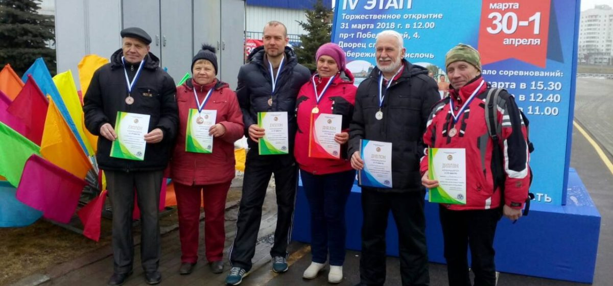 Барановичские моржи вернулись с наградами с чемпионата Республики Беларусь по зимнему спортивному плаванию