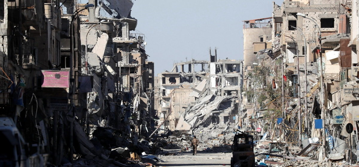 По военным базам армии Сирии был нанесен ракетный удар, десятки погибших