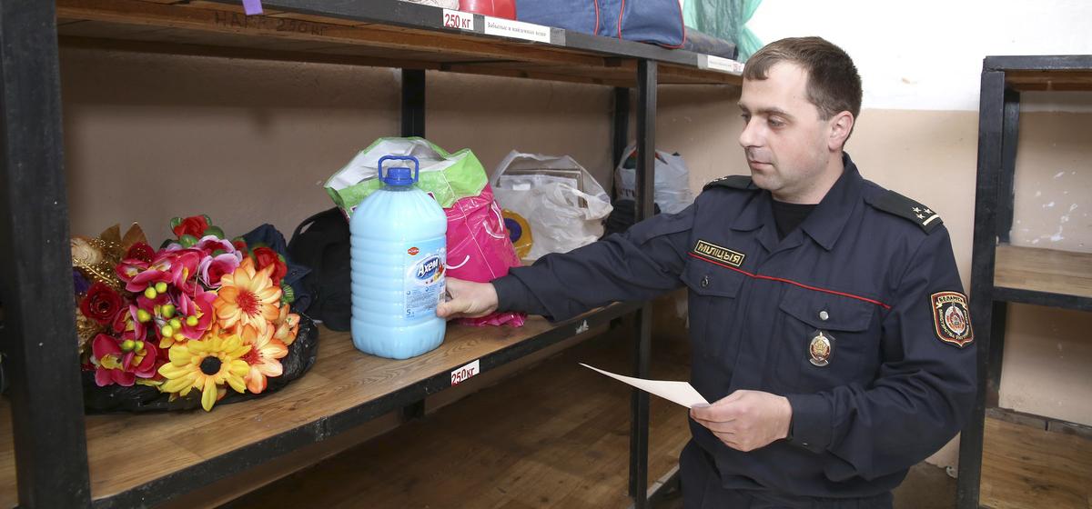Как работает стол находок в Барановичах и что теряют горожане