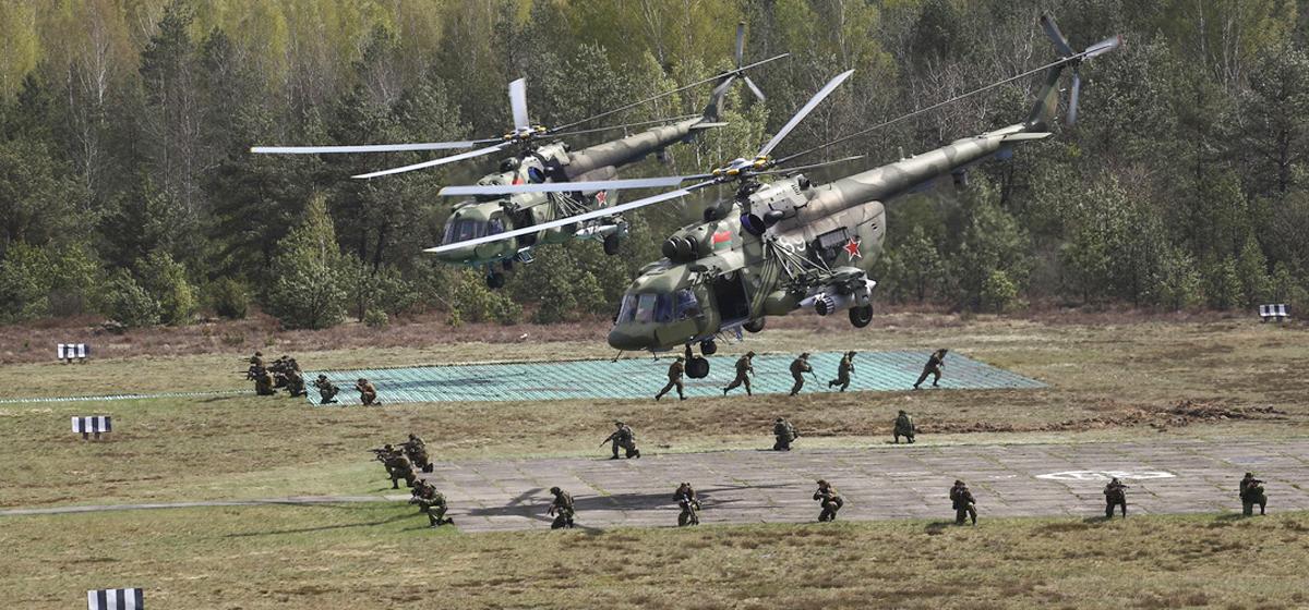 Войска из разных стран прибывают под Барановичи на учения «Поиск-2019»