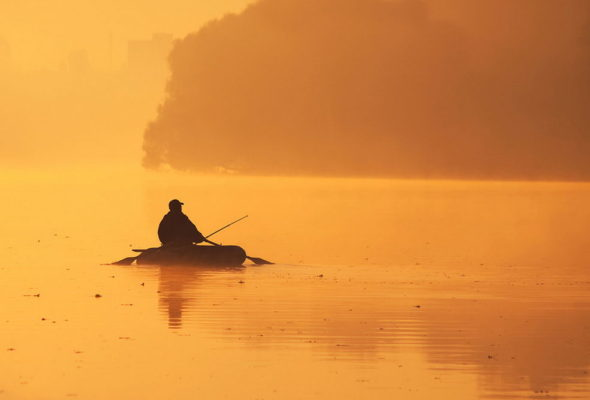 В Кобрине на глубине полуметра утонул 31-летний рыбак