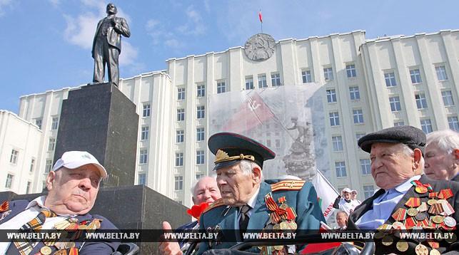 Стало известно, сколько в Беларуси ветеранов Великой Отечественной войны