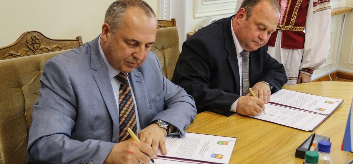 В Барановичах заключили соглашение о побратимстве с Магаданом