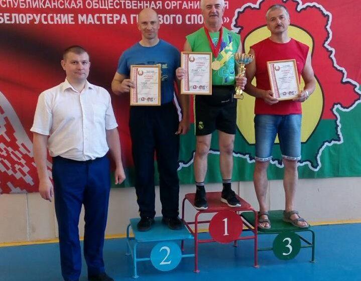 Барановичские силачи стали вторыми на Кубке Победы