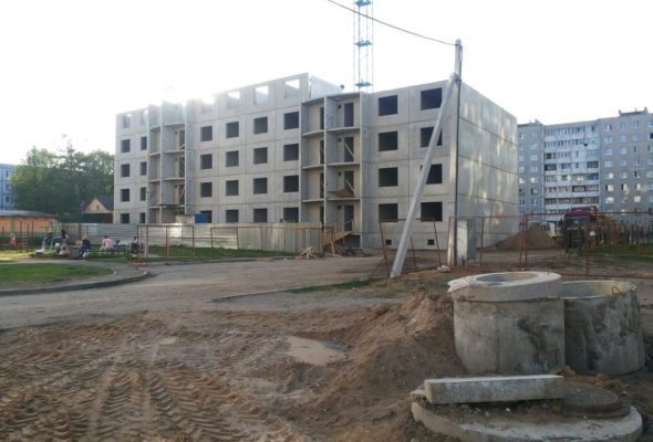 В Барановичах в три раза увеличились объемы жилья, построенного с господдержкой