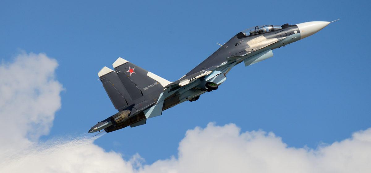 В Сирии разбился российский истребитель Су-30СМ