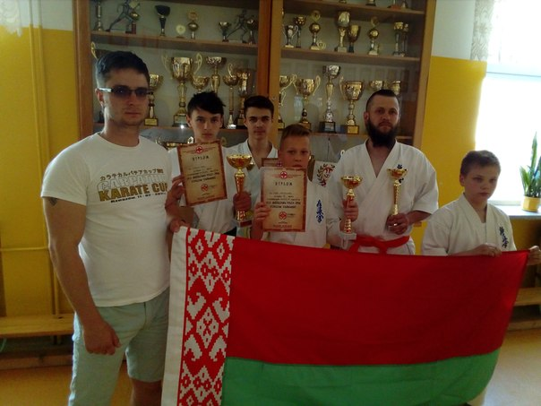 Барановичские каратисты привезли награды международного турнира
