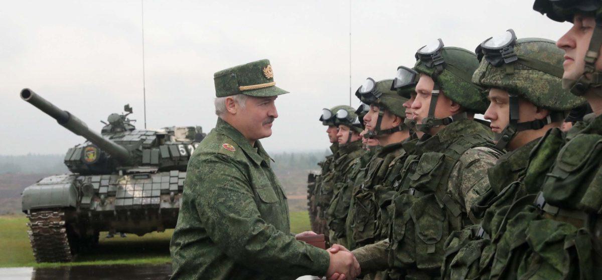 Лукашенко о расходах на армию: на безопасность будем тратить столько, сколько нужно