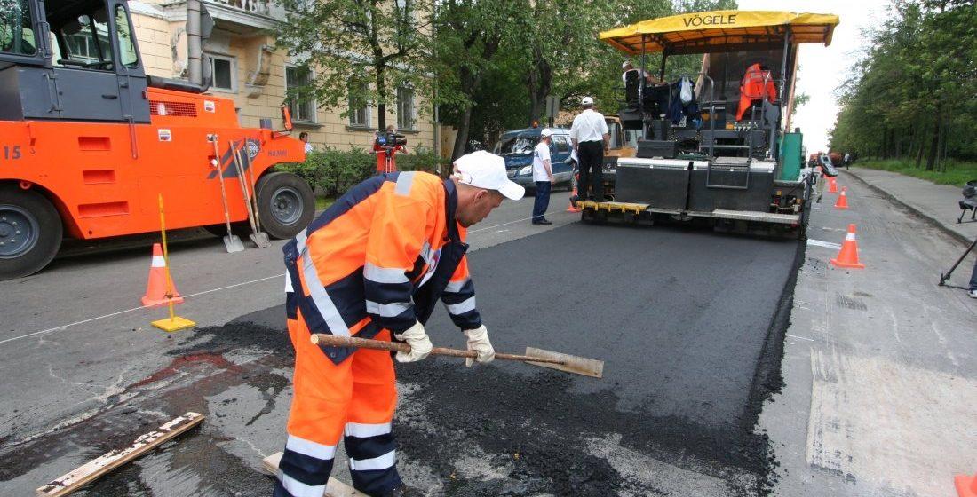 Цифра дня. Как в Беларуси ремонтируют дороги