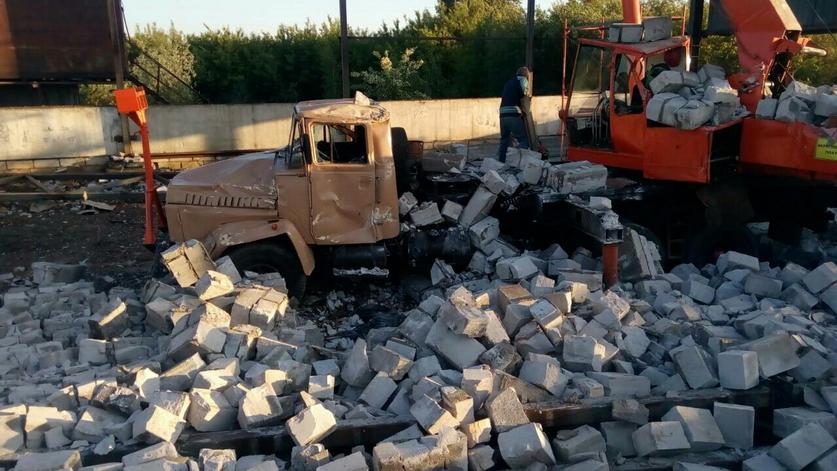 В Гродно стена из газосиликатных блоков рухнула на руководителя частной фирмы — мужчина погиб (фото)
