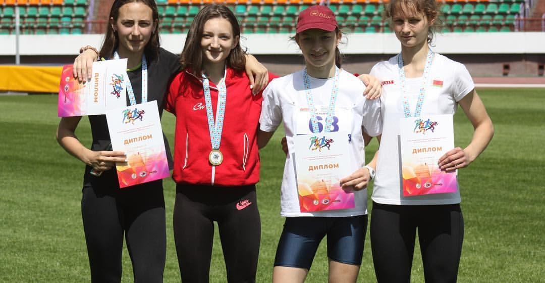 Барановичские юниоры вошли в число победителей и призеров Спартакиады РБ по легкой атлетике