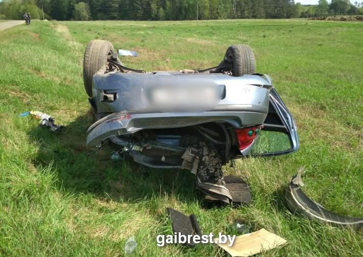 В аварии в Барановичском районе пострадал пассажир. Водителя 19 раз привлекали за нарушение ПДД