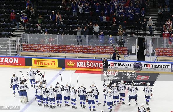 Хоккеисты сборной Беларуси потерпели разгром и во втором матче чемпионата мира
