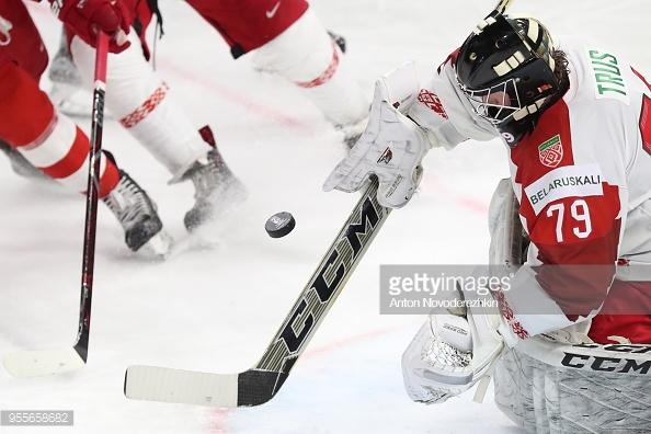 Сборная Беларуси по хоккею разгромлена в третий раз подряд