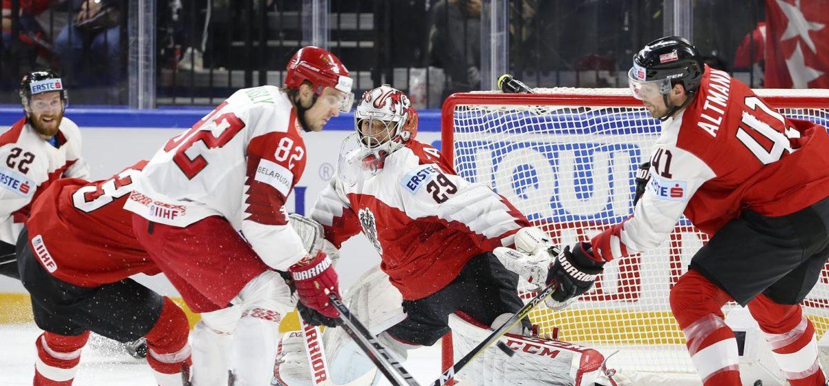 Сборная Беларуси по хоккею покидает элитный дивизион