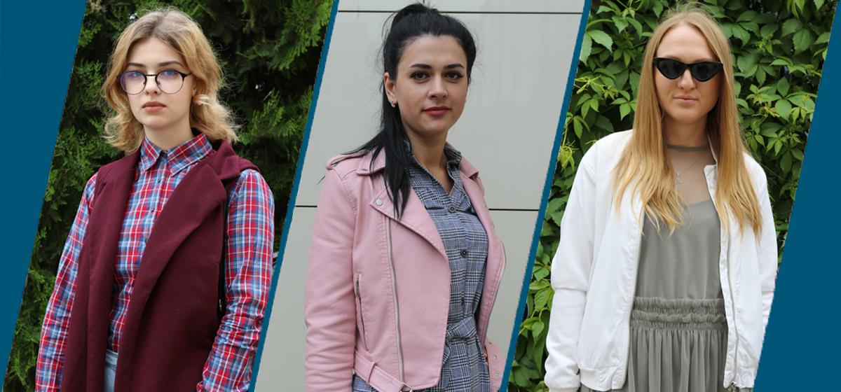 Модные Барановичи: Как одеваются студентка, медсестра и мама в декретном отпуске