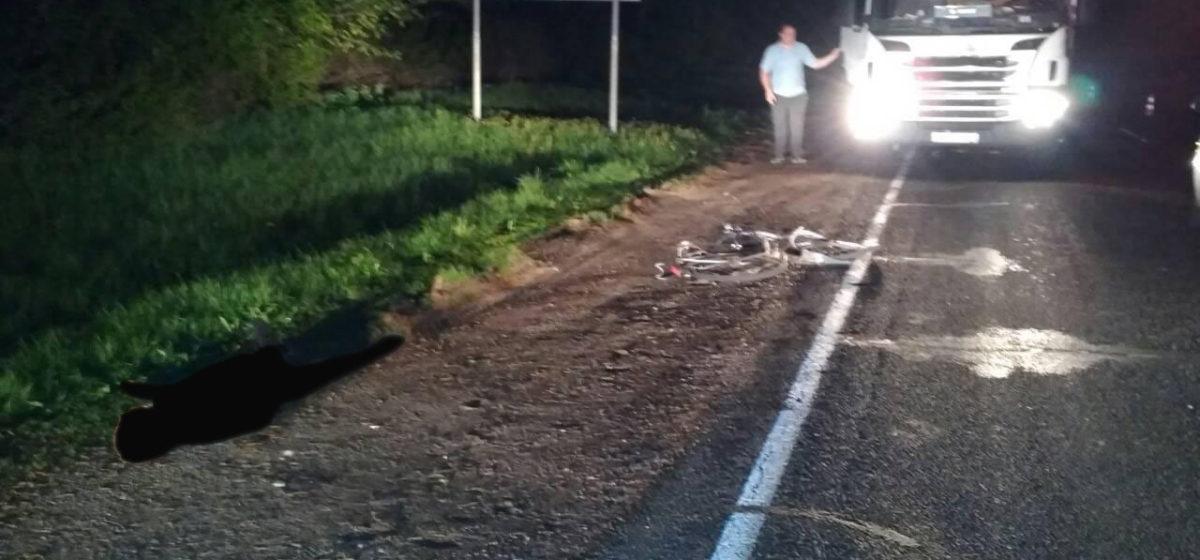 В Барановичском районе фура насмерть сбила велосипедиста