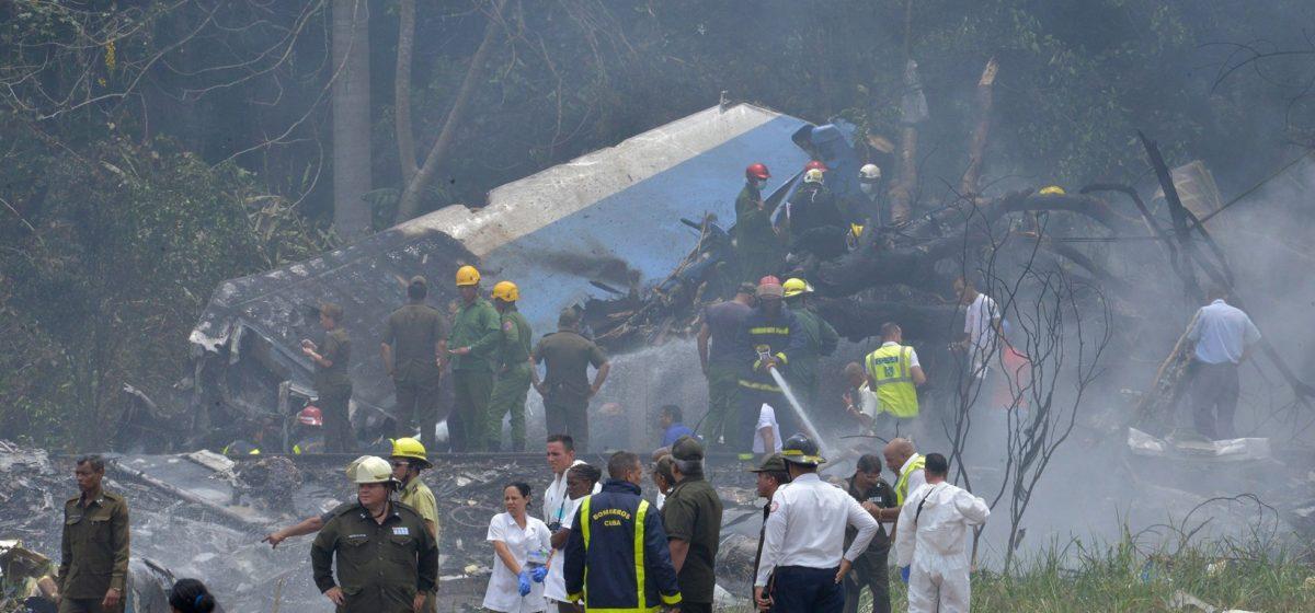 На Кубе при взлете разбился пассажирский «Боинг», на борту находились более ста человек