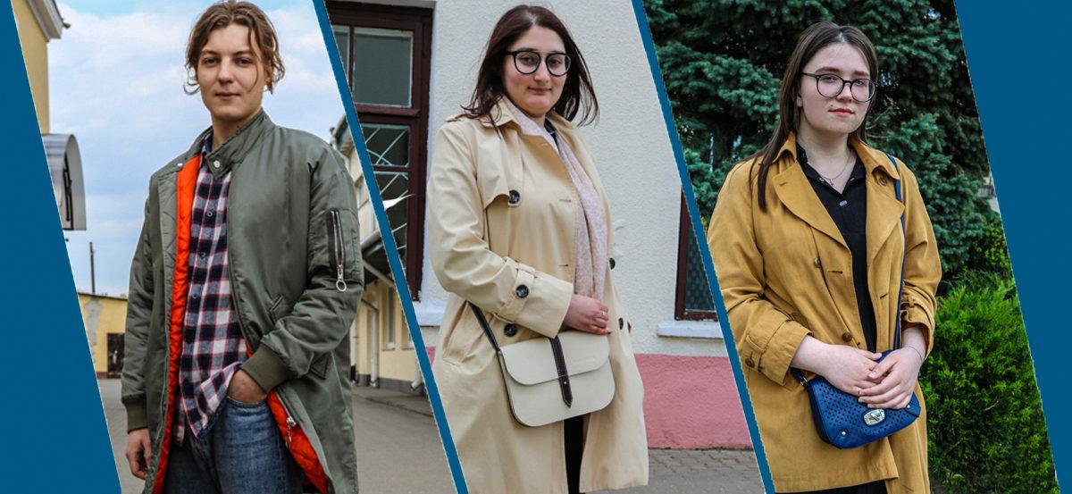 Модные Барановичи: Как одеваются школьница, педагог-организатор и безработный