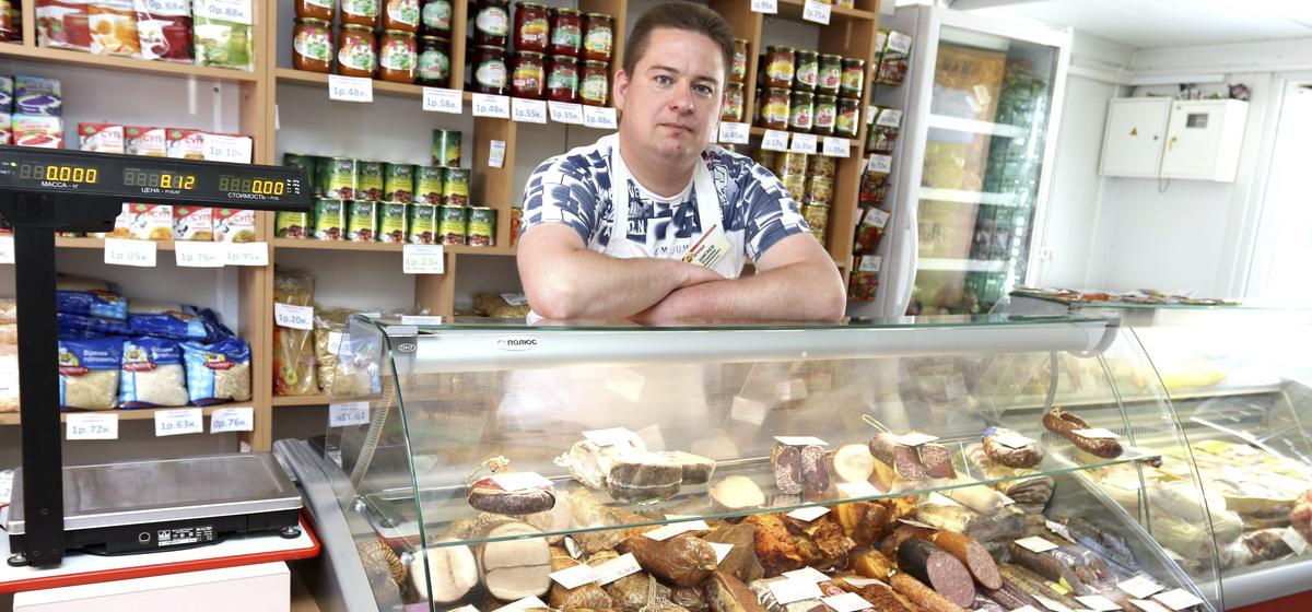 Мой бизнес. Владелец мясных павильонов в Барановичах рассказал, как уволился с мясокомбината и занялся своим делом