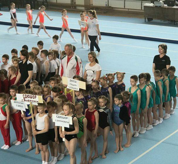 Барановичские гимнасты среди лучших на республиканском турнире «Юный чемпион»