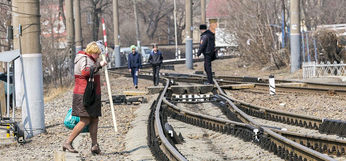 Барановичские правоохранители рассказали, сколько нарушителей выявили на железной дороге за пять дней