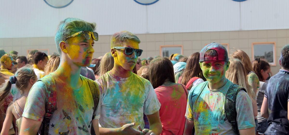 В Барановичах пройдет фестиваль красок ColorFest
