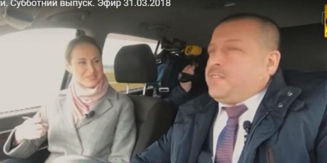 Сотрудники ГАИ оштрафовали журналистку ОНТ и председателя Копыльского райисполкома за езду непристегнутыми в телеэфире