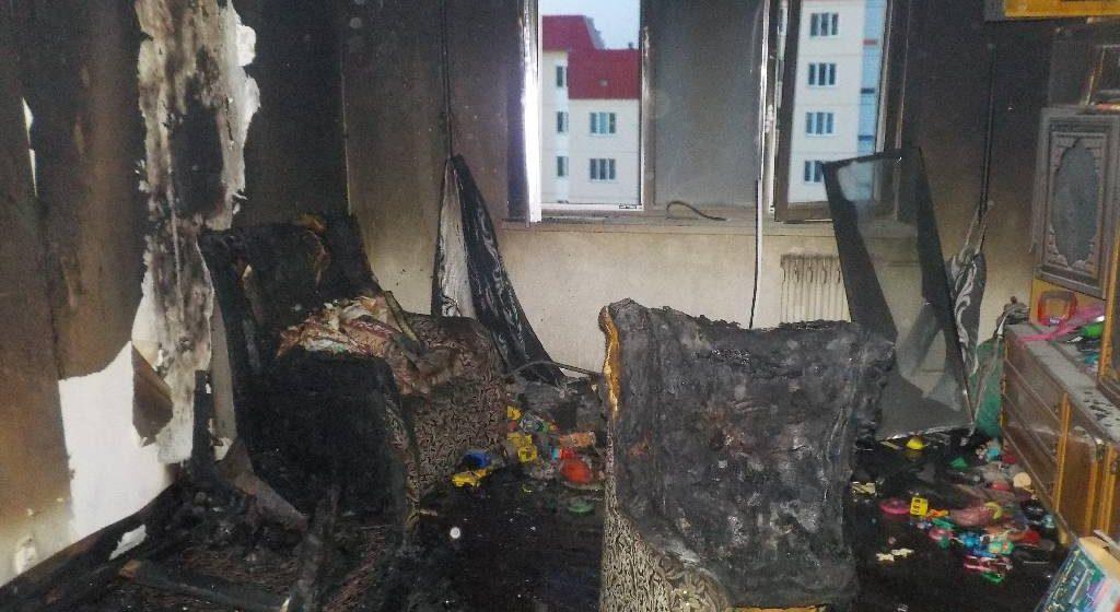Шестилетние мальчик и девочка погибли на пожаре в Бобруйске