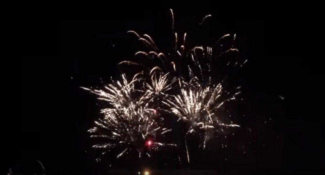 Фейерверк на День города в Барановичах: фото и видео из соцсетей
