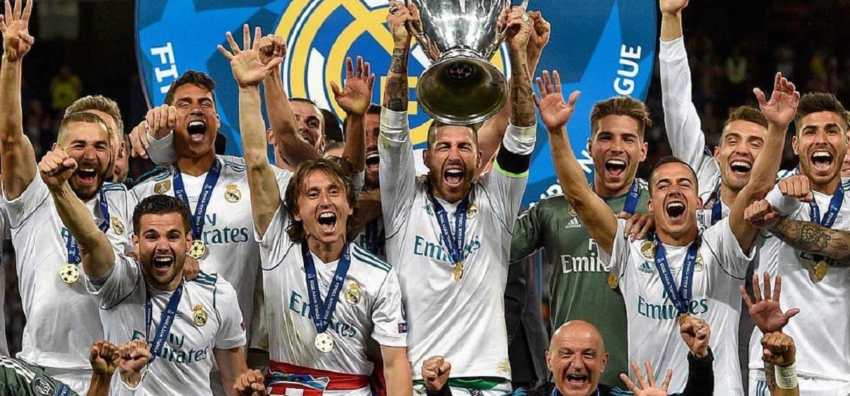 Как футболисты мадридского «Реала» радовались победе в Лиге чемпионов – видео из раздевалки