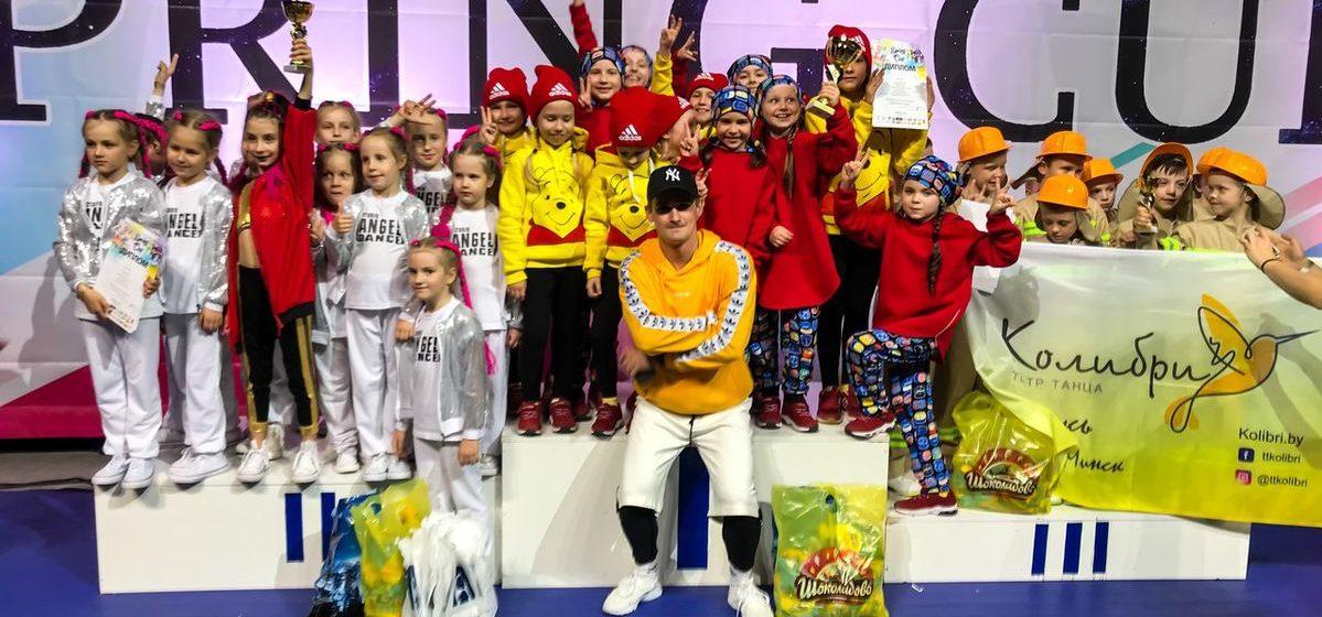 Барановичские танцоры выступили на международном танцевальном турнире Spring Cup 2018