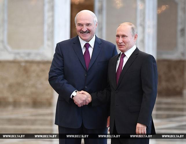 Россия хочет наращивать политическую и экономическую интеграцию с Беларусью