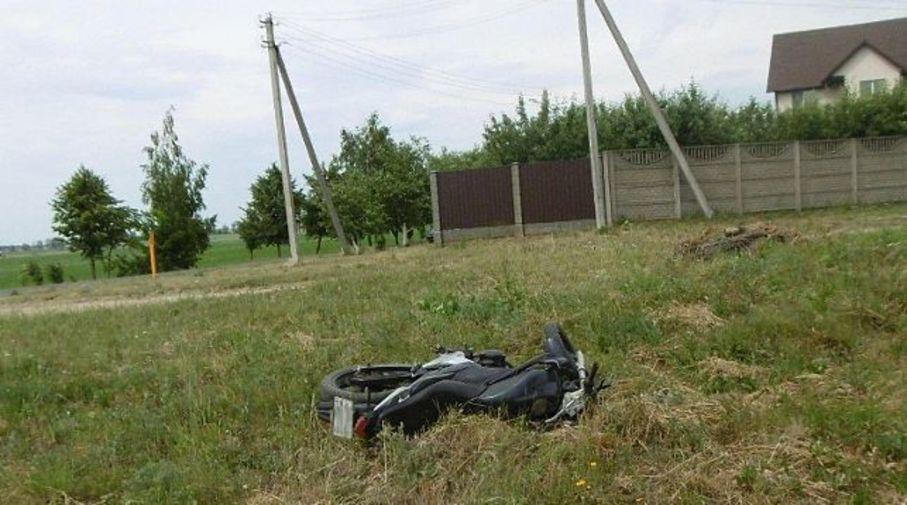 В Дзержинске мотоциклист врезался в грузовик и погиб