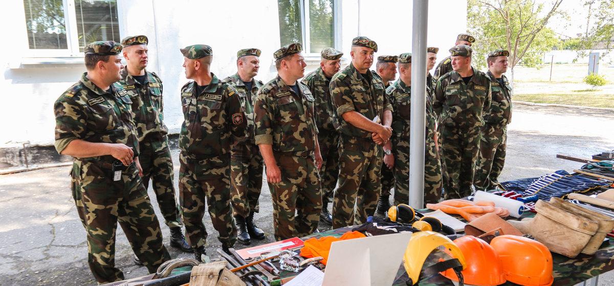 В Барановичах у военнослужащих в/ч 7404 начался новый «семестр»