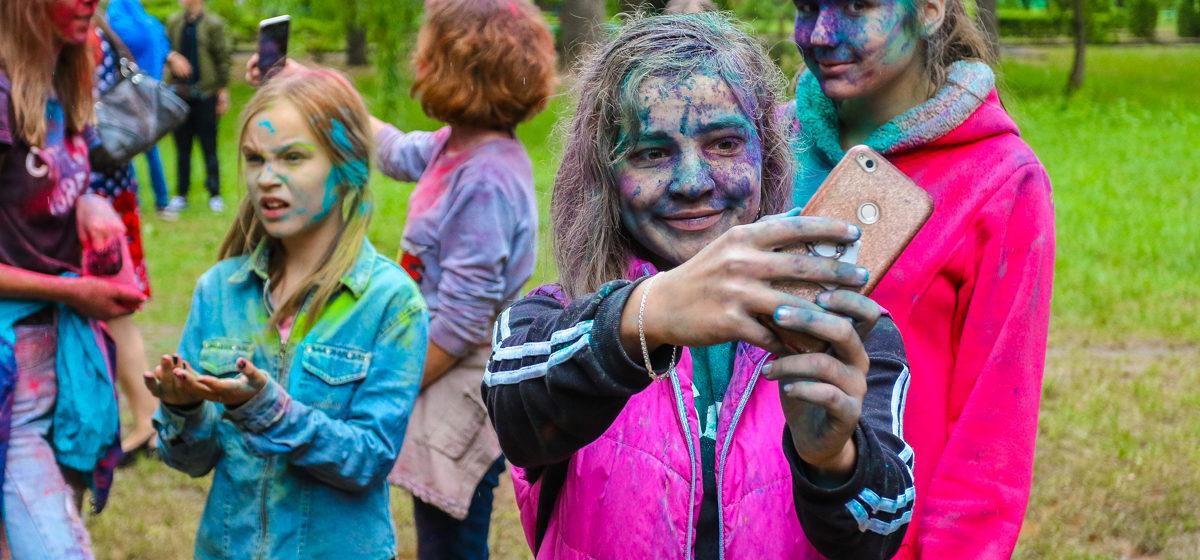 Color Fest на День молодежи в Барановичах. Фоторепортаж