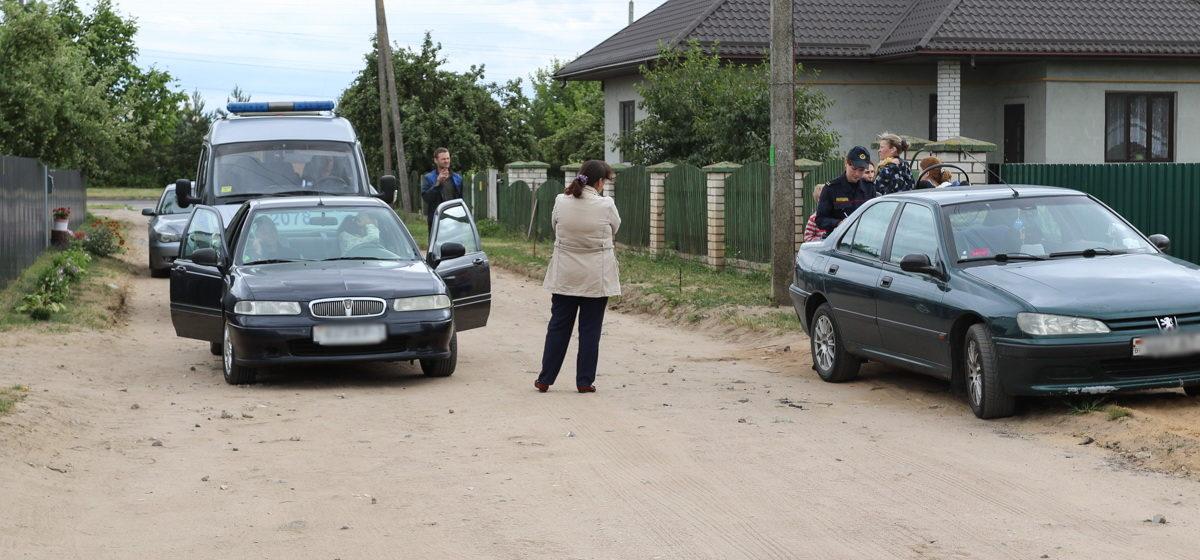 В Барановичах 9-летний ребенок на велосипеде столкнулся с легковым автомобилем