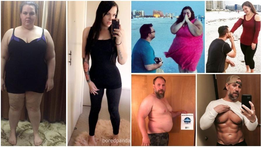 Когда-то я был толстяком. Люди победившие свой избыточный вес делятся фото до и после похудения