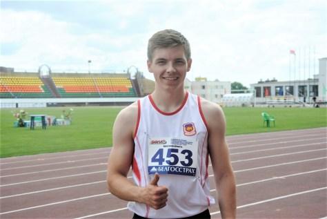 Барановичский легкоатлет выиграл республиканский турнир и попал в состав сборной Беларуси
