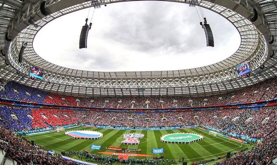 Первый матч чемпионата мира в России завершился разгромом (видео)
