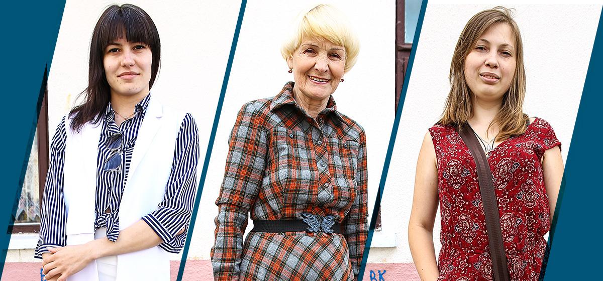 Модные Барановичи: Как одеваются заместитель директора, пенсионерка и дизайнер