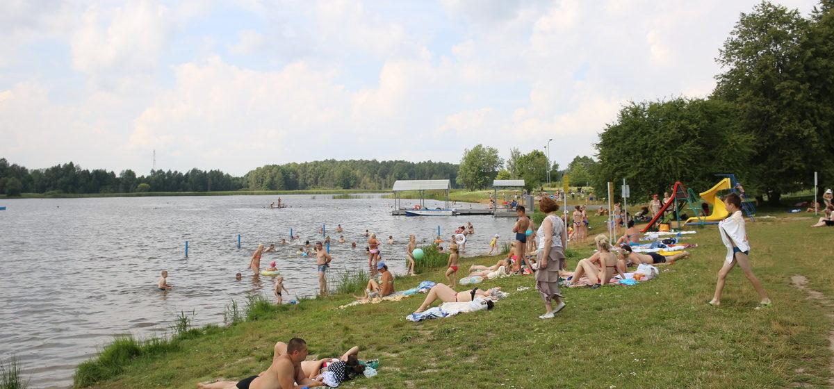 В Барановичах на Мышанке спасатели ОСВОД оказали помощь двум отдыхающим