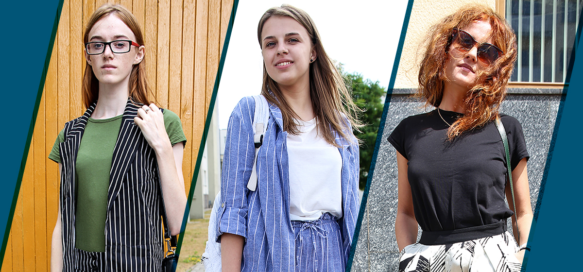 Модные Барановичи: Как одеваются студентка, абитуриентка и мама в декрете