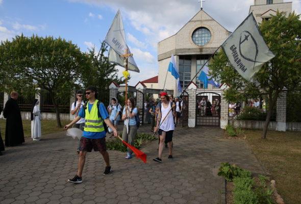 Барановичи посетят паломники, идущие из Бреста к католической святыне в Будслав